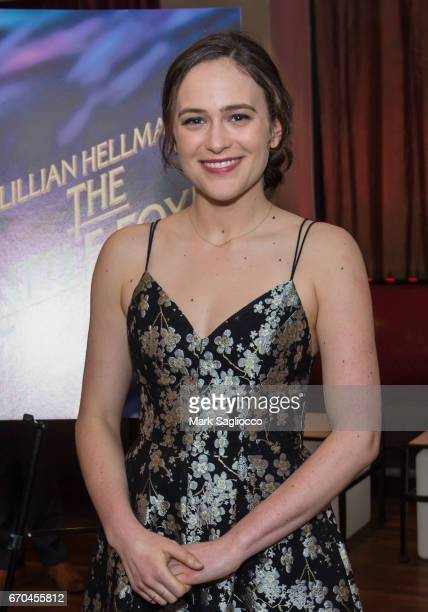 Actress Francesca Carpanini attends The Little Foxes Opening Night After Party at Copacabana on April 19 2017 in New York City