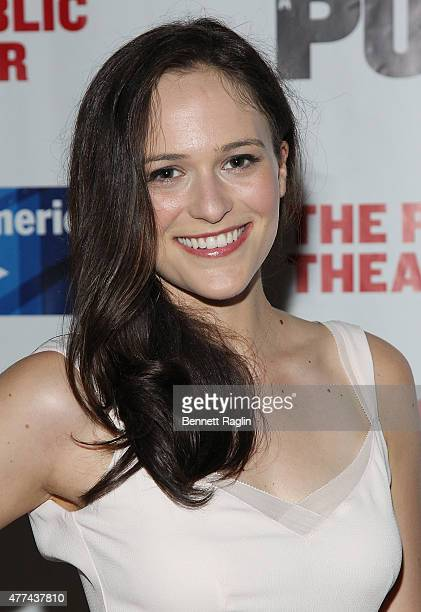 Actress Francesca Carpanini attends The Public Theater's Opening Night Of The Tempest at Delacorte Theater on June 16 2015 in New York City