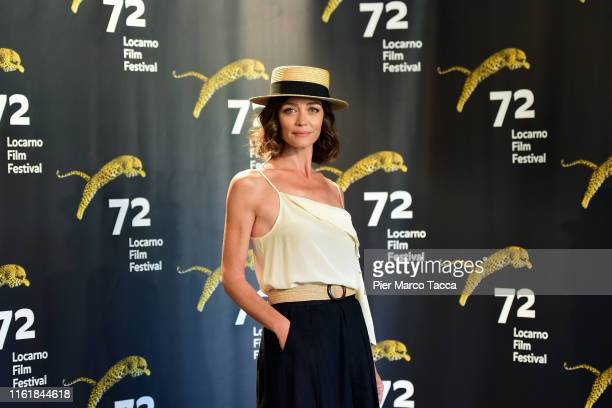 Actress Francesca Cavallin attends 'The Nest' photocall during the 72nd Locarno Film Festival on August 15 2019 in Locarno Switzerland