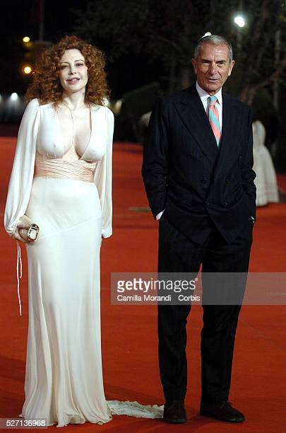 Actress Francesca Dellera and director of Medusa Cinema Carlo Rossella at the premiere of Videoarteattori/spettatori during the 2nd Rome Film Festival