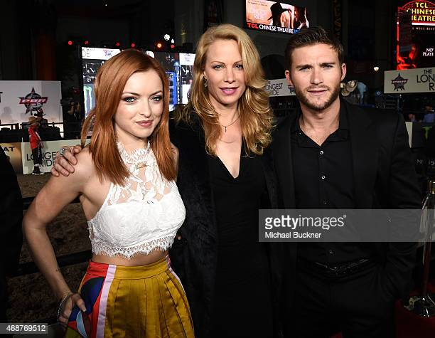 Actress Francesca Eastwood Alison Eastwood and actor Scott Eastwood attend the premiere of Twentieth Century Fox's 'The Longest RIde' at the TCL...