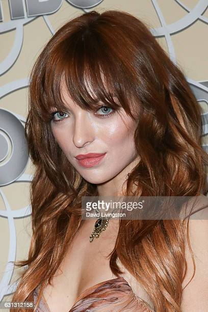 Actress Francesca Eastwood arrives at HBO's Official Golden Globe Awards after party at the Circa 55 Restaurant on January 8 2017 in Los Angeles...