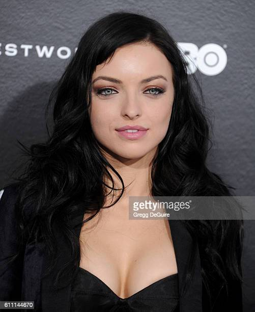 Actress Francesca Eastwood arrives at the premiere of HBO's 'Westworld' at TCL Chinese Theatre on September 28 2016 in Hollywood California