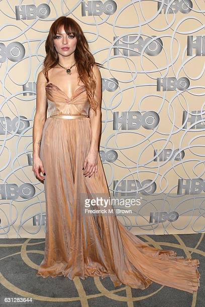 Actress Francesca Eastwood attends HBO's Official Golden Globe Awards After Party at Circa 55 Restaurant on January 8 2017 in Beverly Hills California