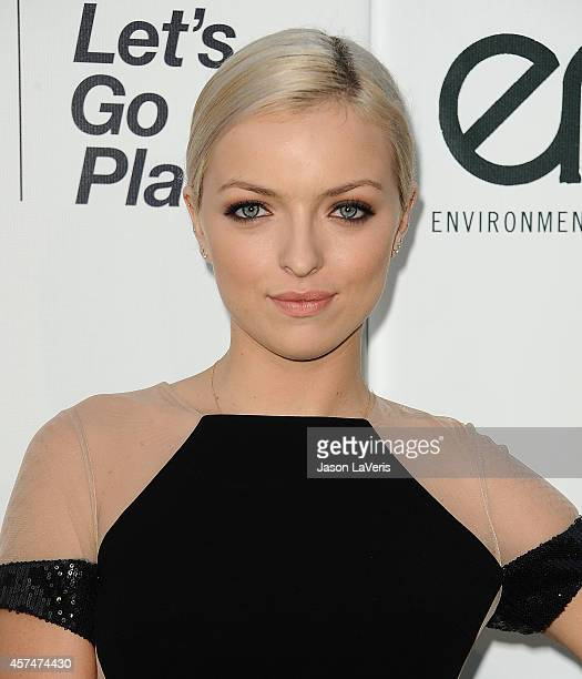 Actress Francesca Eastwood attends the 2014 Environmental Media Awards at Warner Bros Studios on October 18 2014 in Burbank California
