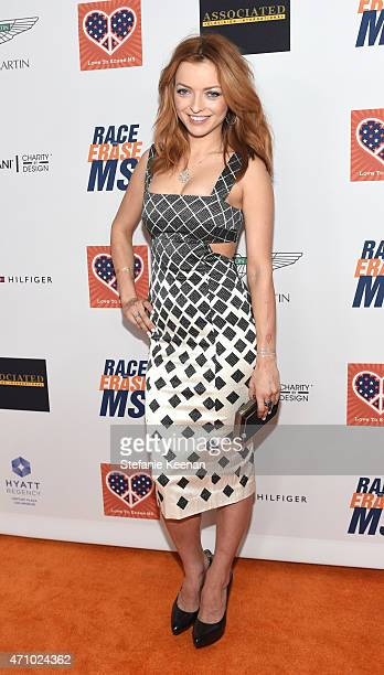 Actress Francesca Eastwood attends the 22nd Annual Race To Erase MS Event at the Hyatt Regency Century Plaza on April 24 2015 in Century City...
