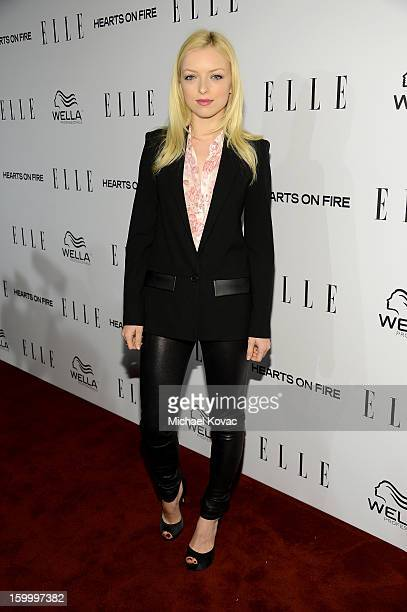 Actress Francesca Eastwood attends the ELLE's Women in Television Celebration at Soho House on January 24 2013 in West Hollywood California