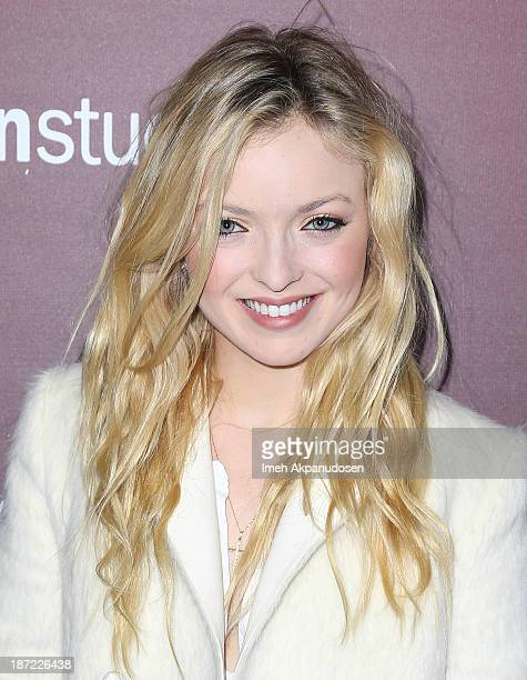 Actress Francesca Eastwood attends The Hollywood Reporter's 'Next Gen' 20th Anniversary Gala at Hammer Museum on November 6 2013 in Westwood...