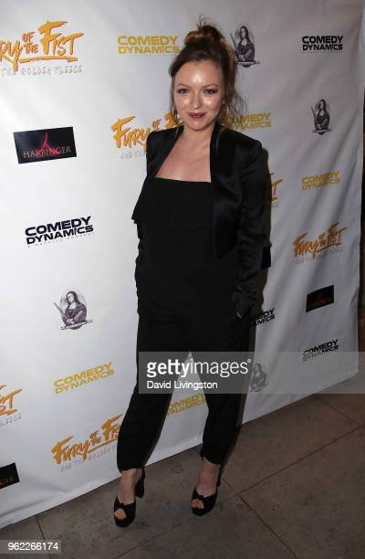 Actress Francesca Eastwood attends the premiere of Comedy Dynamics' The Fury of the Fist and the Golden Fleece at Laemmle's Music Hall 3 on May 24...