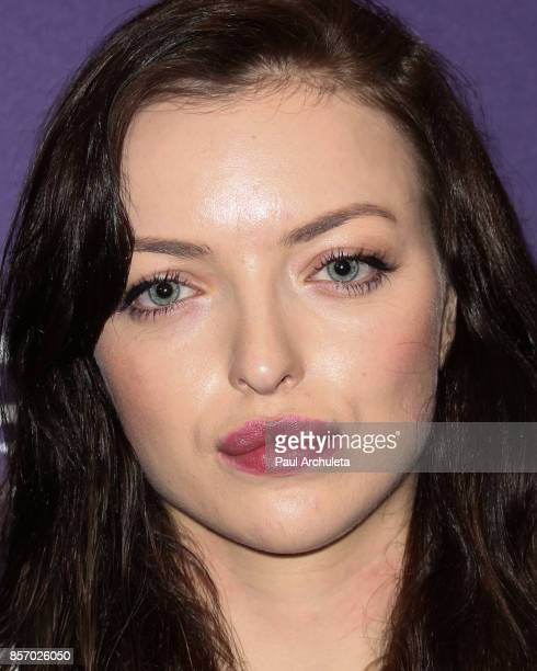Actress Francesca Eastwood attends the premiere of Dark Sky Films' 'MFA' at The London West Hollywood on October 2 2017 in West Hollywood California