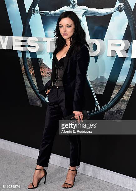 Actress Francesca Eastwood attends the premiere of HBO's 'Westworld' at TCL Chinese Theatre on September 28 2016 in Hollywood California