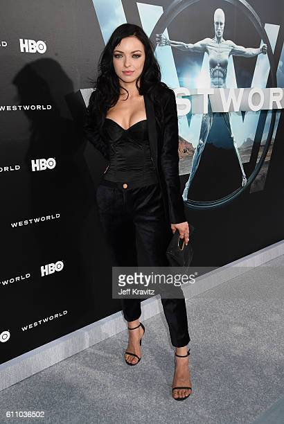 Actress Francesca Eastwood attends the premiere of HBO's Westworld at TCL Chinese Theatre on September 28 2016 in Hollywood California