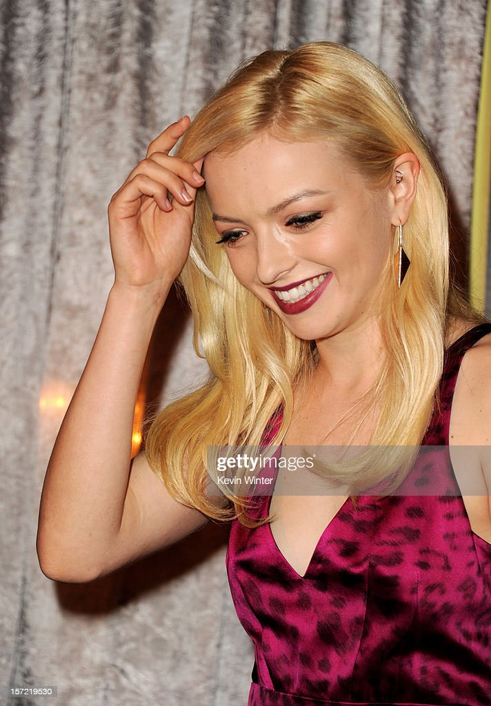 Actress Francesca Eastwood is named Miss Golden Globe 2013 at the Hollywood Foreign Press Association's and In Style's celebration of the 2013 Golden Globes Awards Season at Cecconi's on November 29, 2012 in West Hollywood, California.