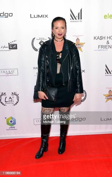 Actress Francesca Esker attends the Kash Hovey and Friends Film Block at Film Fest LA at Regal Cinemas LA LIVE Stadium 14 on November 09 2019 in Los...