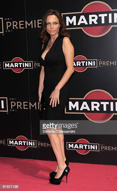 Actress Francesca Neri attends Martini Premiere Award Ceremony at Palazzo Reale on October 6 2009 in Milan Italy