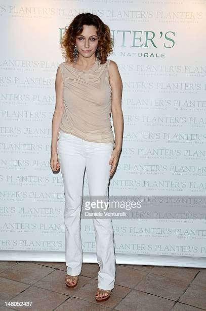 Actress Francesca Neri attends the Opening Night during the 2012 Ischia Global Fest on July 8 2012 in Ischia Italy