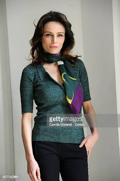 Actress Francesca Neri attends the photo call of 'Riprendimi' in Rome