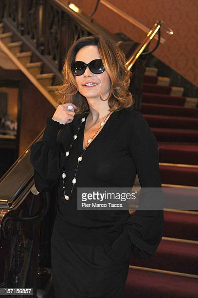 Actress Francesca Neri attends the 'Una Famiglia Perfetta' photocall at Cinema Odeon on November 29 2012 in Milan Italy