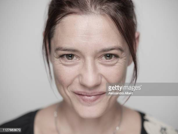 Actress Francesca Niedda poses for a portrait Turin Film Festival on November 2018 in Turin Italy