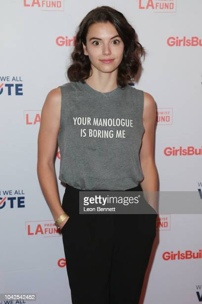 Actress Francesca Reale attends LA Promise Fund's Annual Summit at USC Galen Center on September 28 2018 in Los Angeles California