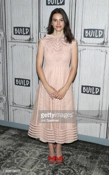 Actress Francesca Reale attends the Build Series to discuss Stranger Things at Build Studio on July 19 2019 in New York City