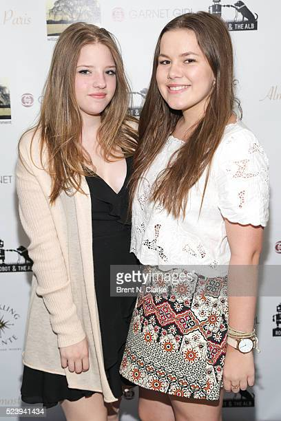Actress Francesca Scorsese and Scout O'Donnel attend the Almost Paris premiere after party on April 24 2016 in New York City