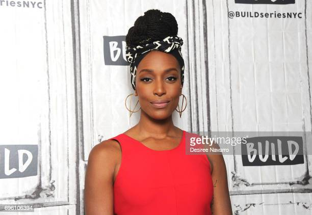 Actress Franchesca Ramsey attends Build to discuss the book 'Surpassing Certainty: What My Twenties Taught Me' at Build Studio on June 14, 2017 in...