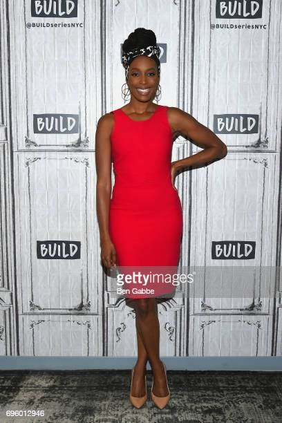 """Actress Franchesca Ramsey attends the Build Series to discuss the new book """"Surpassing Certainty: What My Twenties Taught Me"""" at Build Studio on June..."""