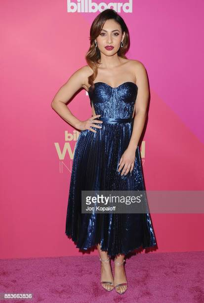 Actress Francia Raisa attends Billboard Women In Music 2017 at The Ray Dolby Ballroom at Hollywood Highland Center on November 30 2017 in Hollywood...