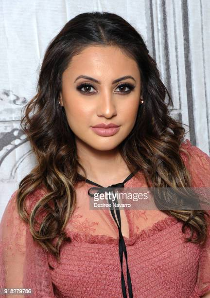 Actress Francia Raisa attends Build Series to discuss 'grownish' at Build Studio on February 14 2018 in New York City