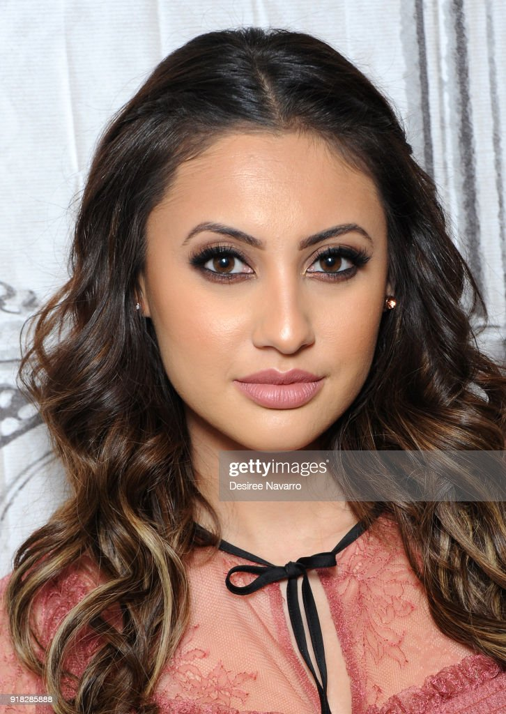 Actress Francia Raisa attends Build Series to discuss 'grown-ish' at Build Studio on February 14, 2018 in New York City.