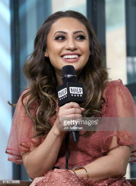 Actress Francia Raisa attends the Build Series to discuss 'grownish' at Build Studio on February 14 2018 in New York City