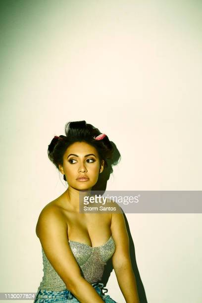 Actress Francia Raisa is photographed for Ladygunn Magazine on January 3 2019 in Los Angeles California PUBLISHED IMAGE