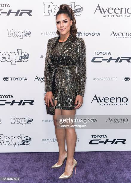 Actress Francisca Lachapel arrives at People en Espanol's 50 Most Beautiful Gala 2017 at Espace on May 16 2017 in New York City