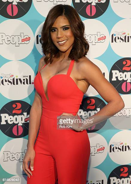 Actress Francisca Lachapel attends the 5th Annual Festival PEOPLE En Espanol Day 1 at the Jacob Javitz Center on October 15 2016 in New York City