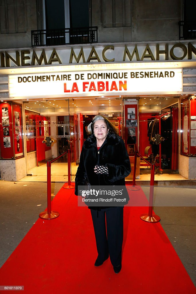 Tribute to Francoise Fabian In Paris