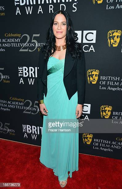 Actress Franka Potente arrives at the 2012 BAFTA Los Angeles Britannia Awards Presented By BBC AMERICA at The Beverly Hilton Hotel on November 7 2012...