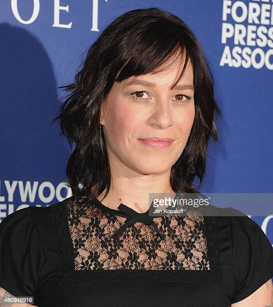 Actress Franka Potente arrives at The Hollywood Foreign Press Association Installation Dinner at The Beverly Hilton Hotel on August 14, 2014 in...