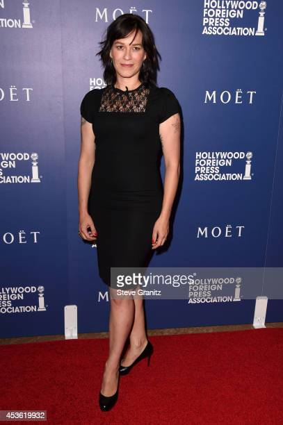 Actress Franka Potente attends The Hollywood Foreign Press Association Installation Dinner at The Beverly Hilton Hotel on August 14 2014 in Beverly...