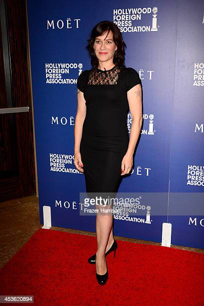 Actress Franka Potente attends the Hollywood Foreign Press Association's Grants Banquet at The Beverly Hilton Hotel on August 14 2014 in Beverly...