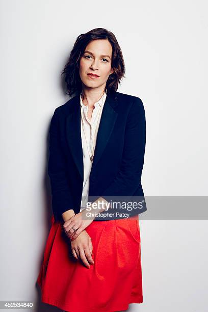 Actress Franka Potente poses for a portrait session at the summer Television Critics Association for the FX network on July 21, 2014 in Beverly...