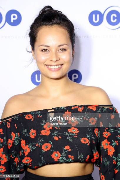 Actress Frankie Adams attends Universal Cable Productions Annual ComicCon Celebration at Omnia Nightclub on July 21 2017 in San Diego California