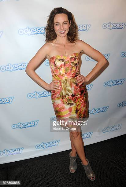 Actress Frankie Ingrassia arrives for the Reading Of 'The Blade Of Jealousy/La Celsa De Misma' held at The Odyssey Theatre on August 29 2016 in Los...