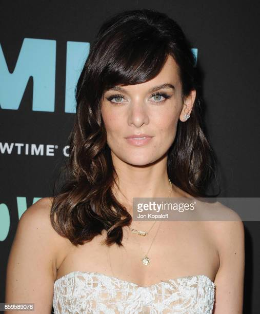 Actress Frankie Shaw arrives at the Los Angeles Premiere 'SMILF' at Harmony Gold Theater on October 9 2017 in Los Angeles California