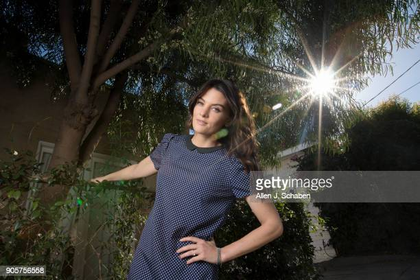 Actress Frankie Shaw is photographed for Los Angeles Times on December 13 2017 in Los Angeles California PUBLISHED IMAGE CREDIT MUST READ Allen J...