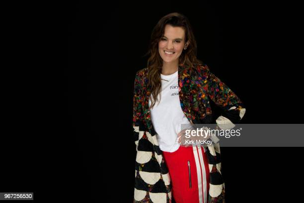 Actress Frankie Shaw is photographed for Los Angeles Times on April 8 2018 in Los Angeles California PUBLISHED IMAGE CREDIT MUST READ Kirk McKoy/Los...