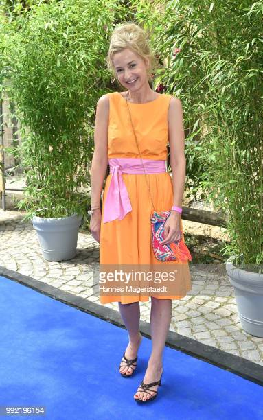 Actress Franziska Schlattner attends the FFF reception during the Munich Film Festival 2018 at Praterinsel on July 5 2018 in Munich Germany