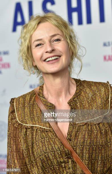 Actress Franziska Schlattner attends the premiere of Als Hitler das rosa Kaninchen stahl at Arri Kino on December 15 2019 in Munich Germany