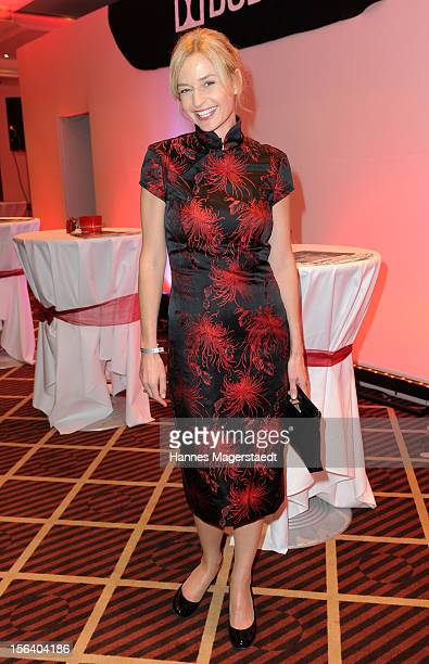 Actress Franziska Schlattner attends the Video Entertainment Award 2012 at the Westin Grand Hotel on November 14 2012 in Munich Germany