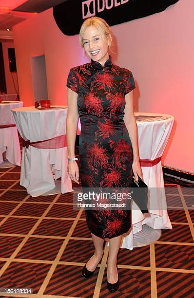 Actress Franziska Schlattner attends the Video Entertainment Award 2012 at the Westin Grand Hotel on November 14 2012 in Munich Germany